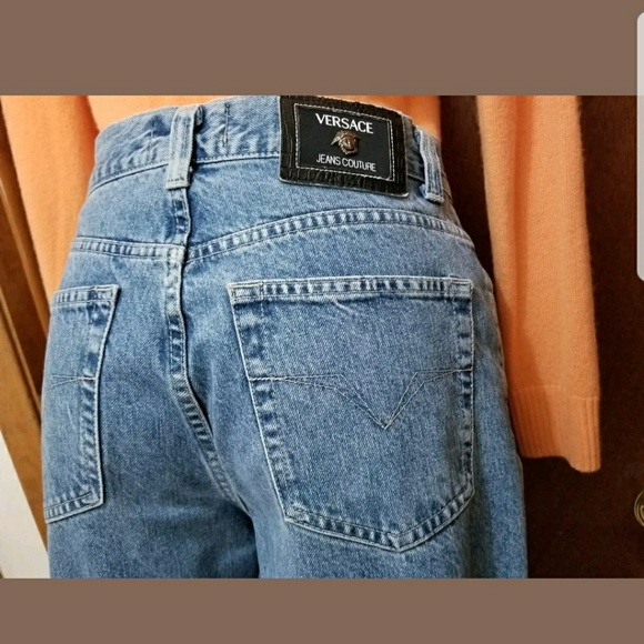 5b56a280ae51c Versace jeans Couture vtg jeans mom jean medusa